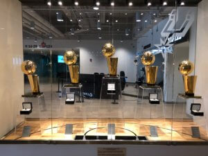 5 NBA Trophies won by the Spurs