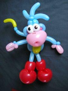 balloon boots monkey