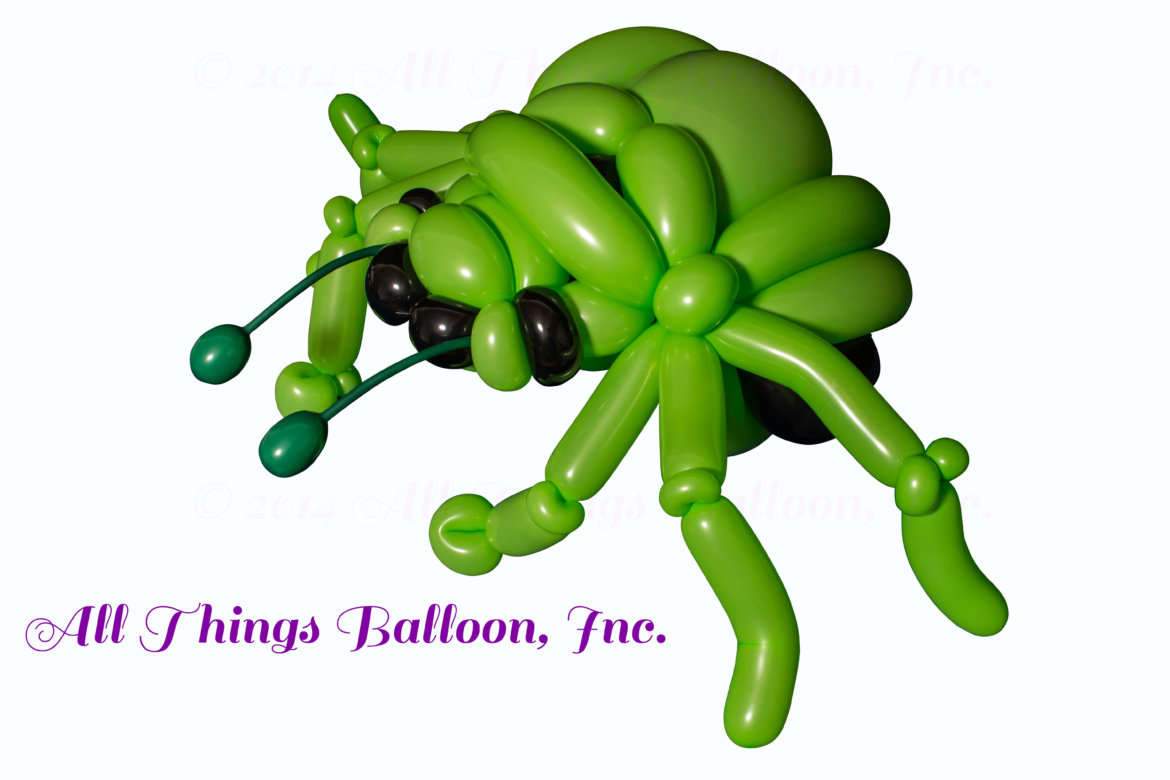 kids party - balloon insect