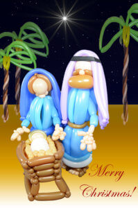 Christmas - Joseph, Mary and baby