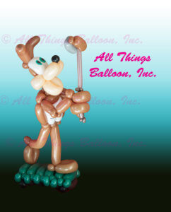 balloon Artist - balloon delivery - balloon Spurs Coyote