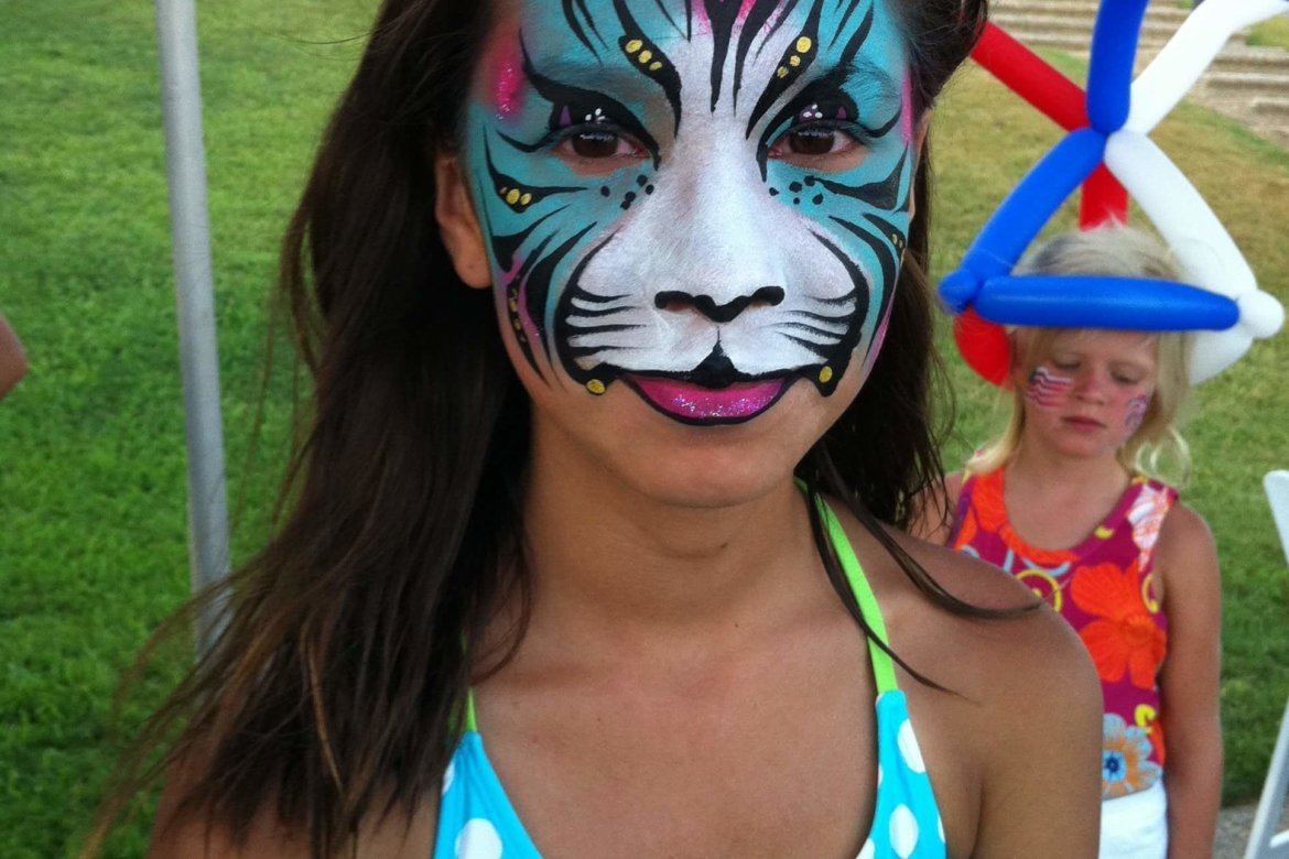 Face Paint - Exotic Cat