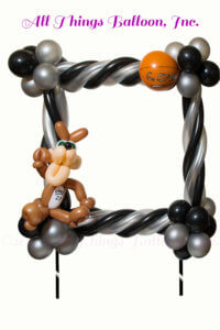 Balloon Decor: balloon decorator - balloon Spur's-themed photo frame