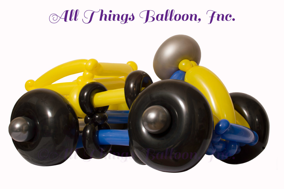 balloon artist - balloon pickup truck - wearable