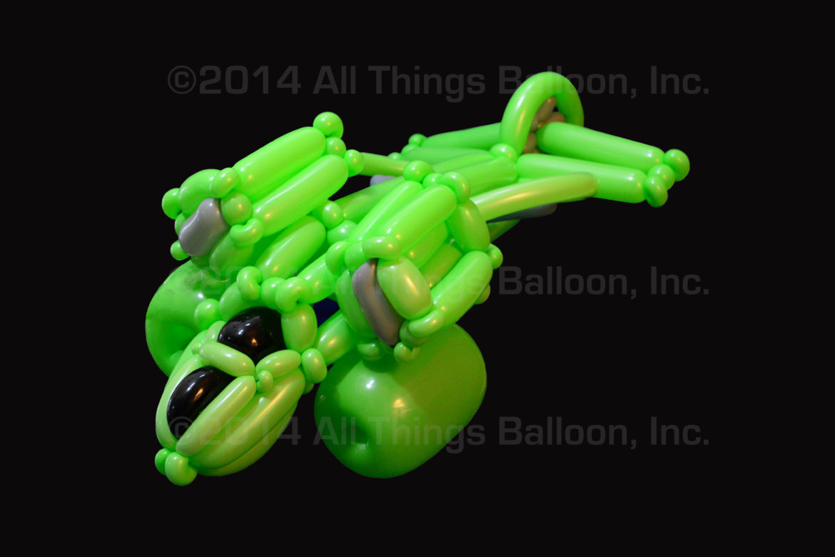 birthday party - balloon helicopter