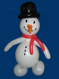 Christmas - balloon snowman