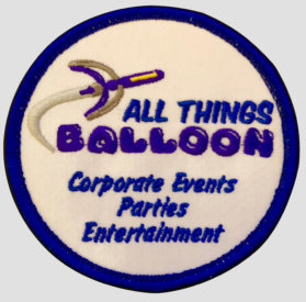 All Things Balloon, Inc. -m shoulder patch